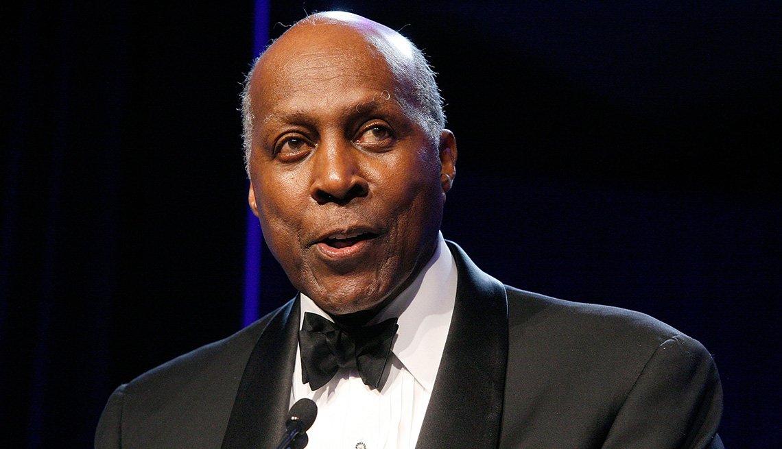 El abogado y activista de derechos civiles Vernon Jordan.