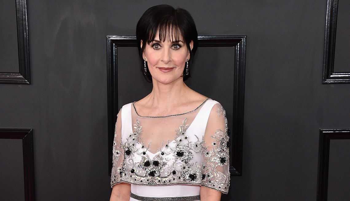item 7 of Gallery image - Recording artist Enya at the 59th Grammy Awards