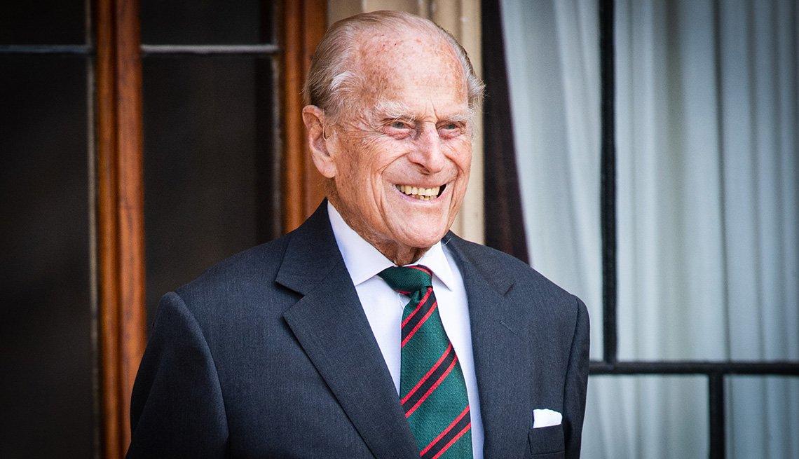 Príncipe Felipe, Duque de Edinburgh.