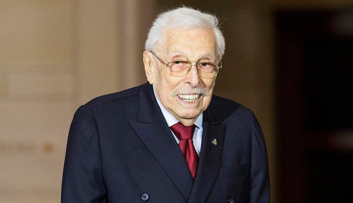 Former congressman Lester L. Wolff