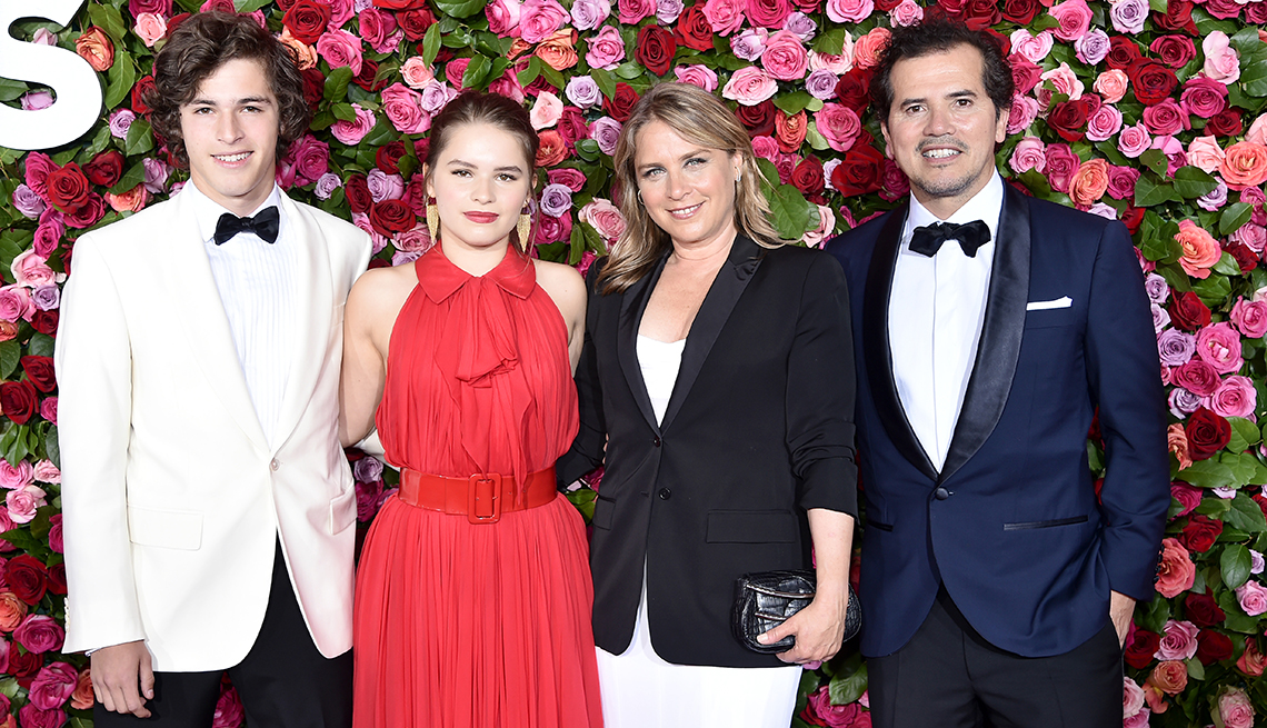 item 4 of Gallery image - John Leguizamo and his family