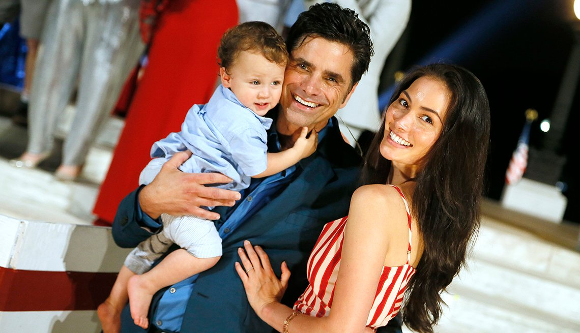 John Stamos and his family