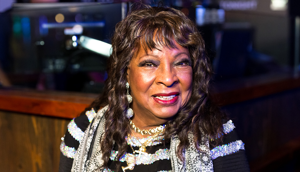item 6 of Gallery image - La cantante Martha Reeves.