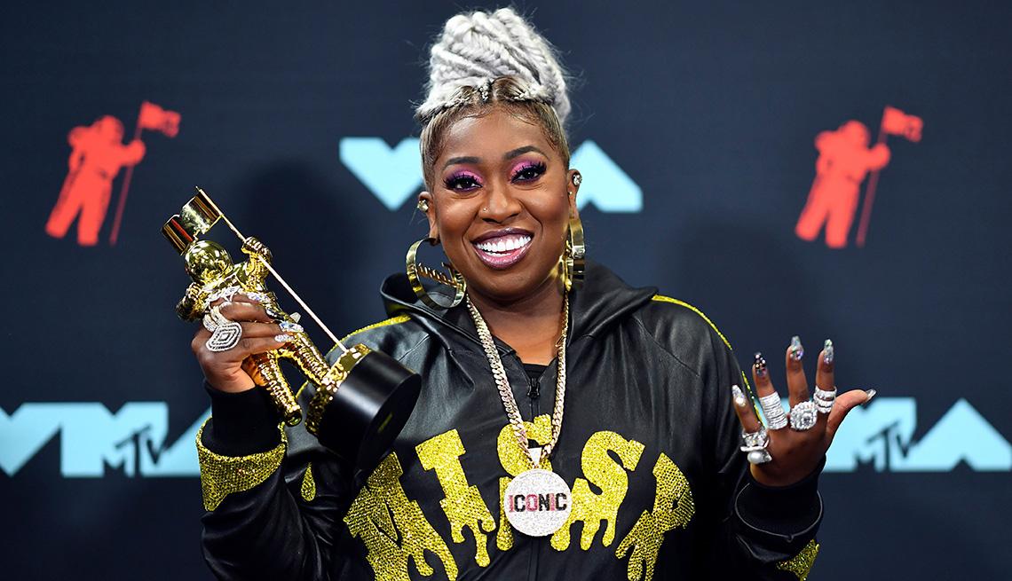 item 1 of Gallery image - Rapper Missy Elliott