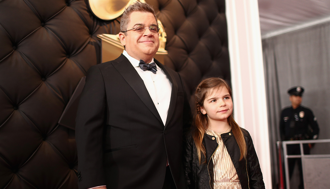 item 8 of Gallery image - Patton Oswalt with his daughter