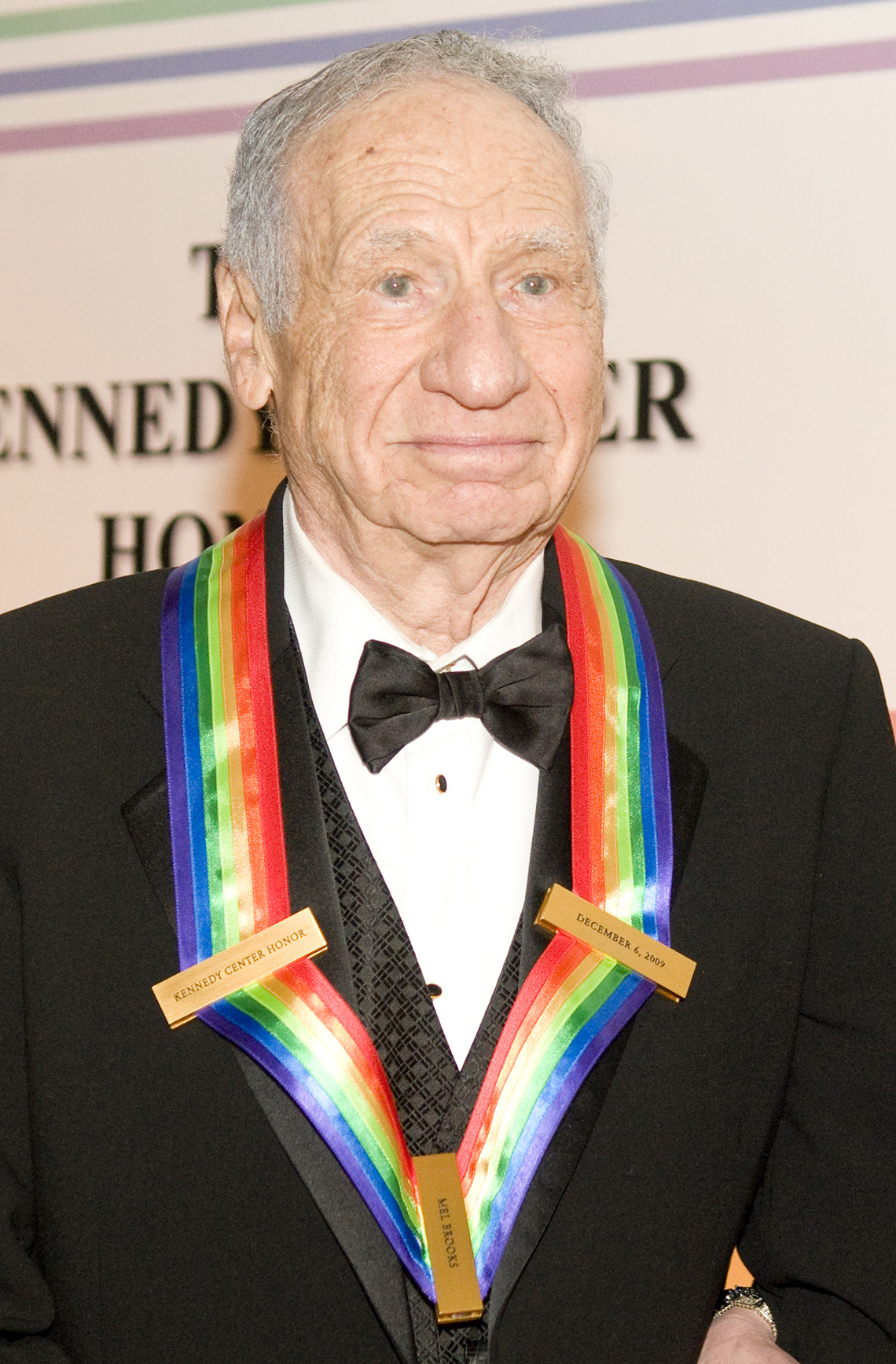 Mel Brooks on the red carpet before the 32nd Kennedy Center Honors
