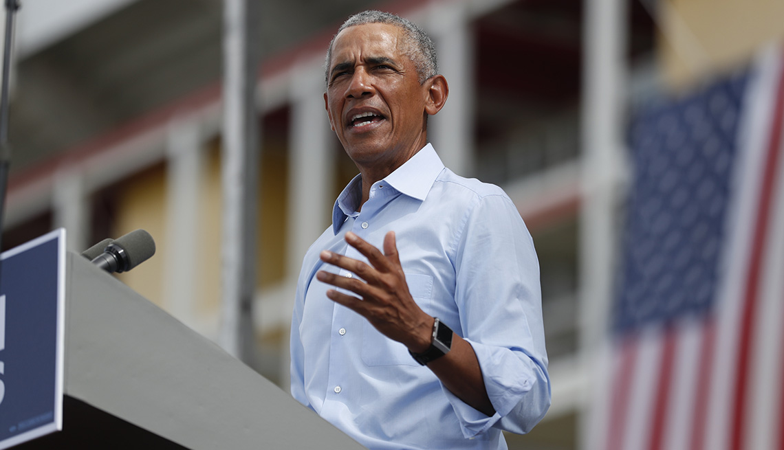 item 3 of Gallery image - El presidente número 44 de Estados Unidos.
