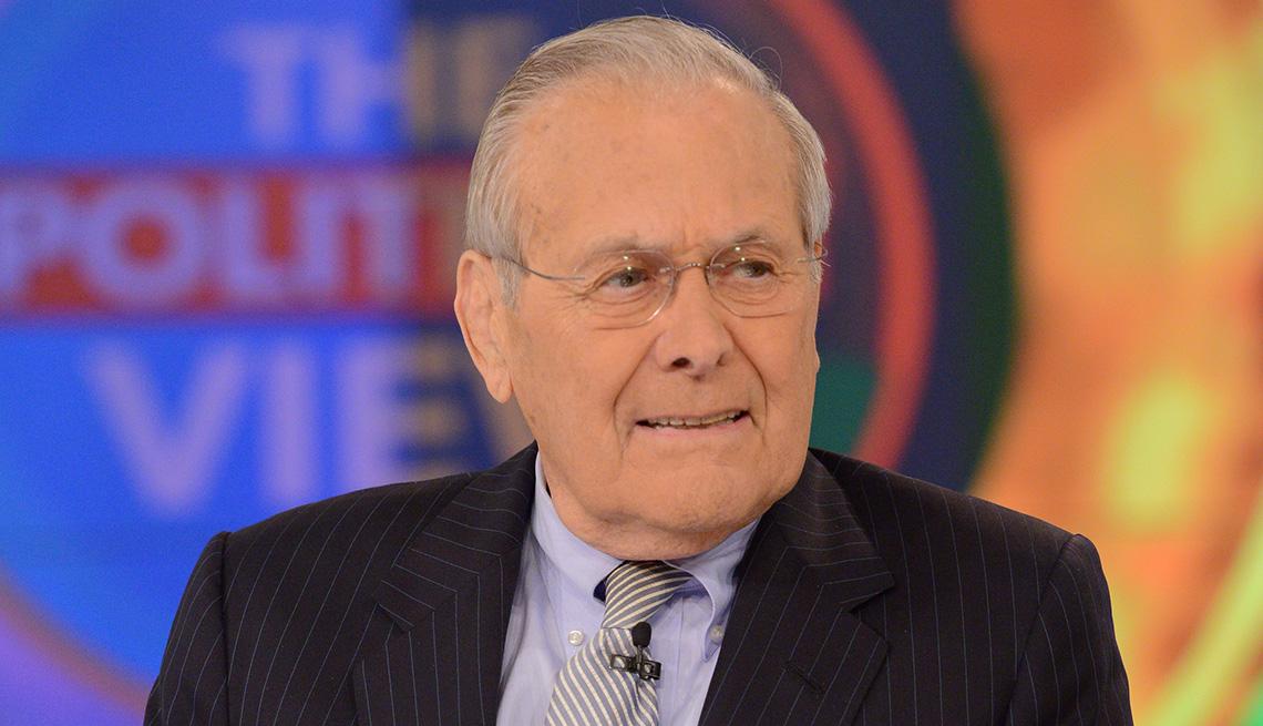 item 9 of Gallery image - El exsecretario de defensa Donald Rumsfeld.