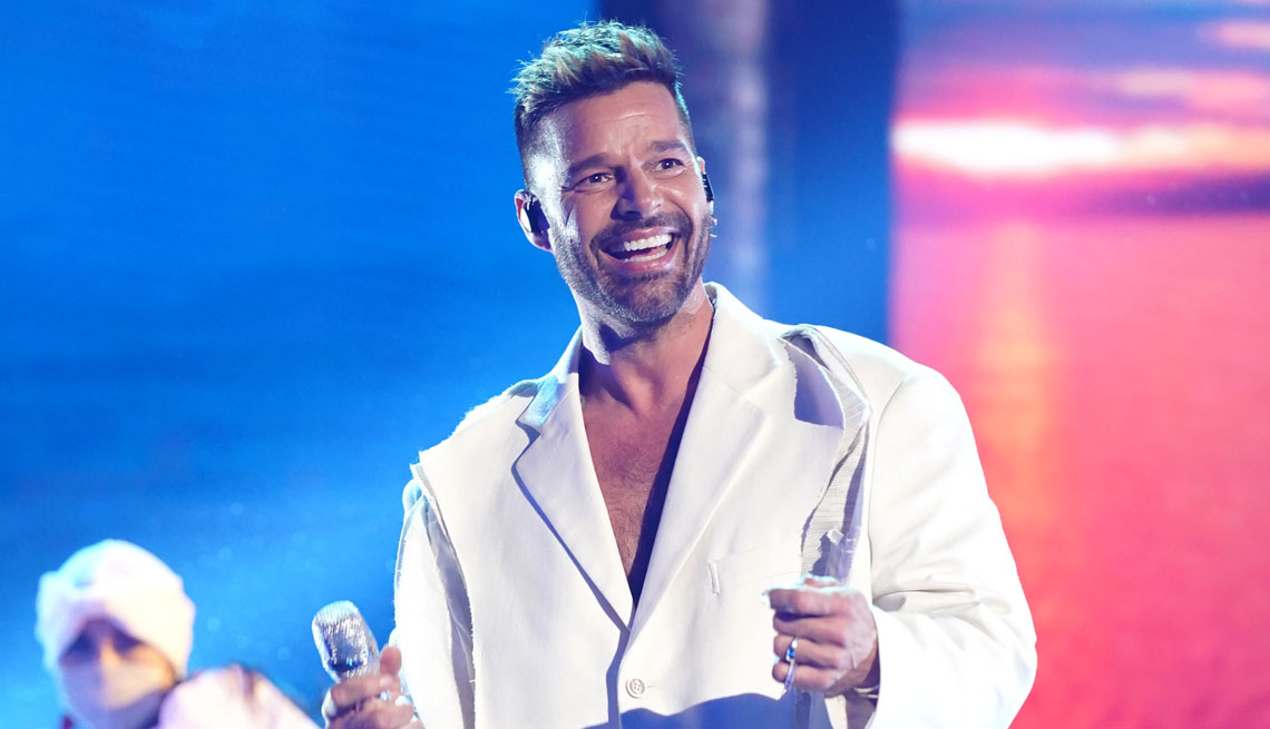 item 15 of Gallery image - singer ricky martin performing at the latin american music awards in sunrise florida