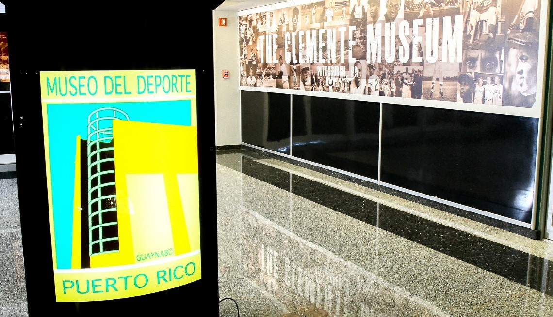 item 1 of Gallery image - The Roberto Clemente exhibit at the Museo del Deporte in Puerto Rico