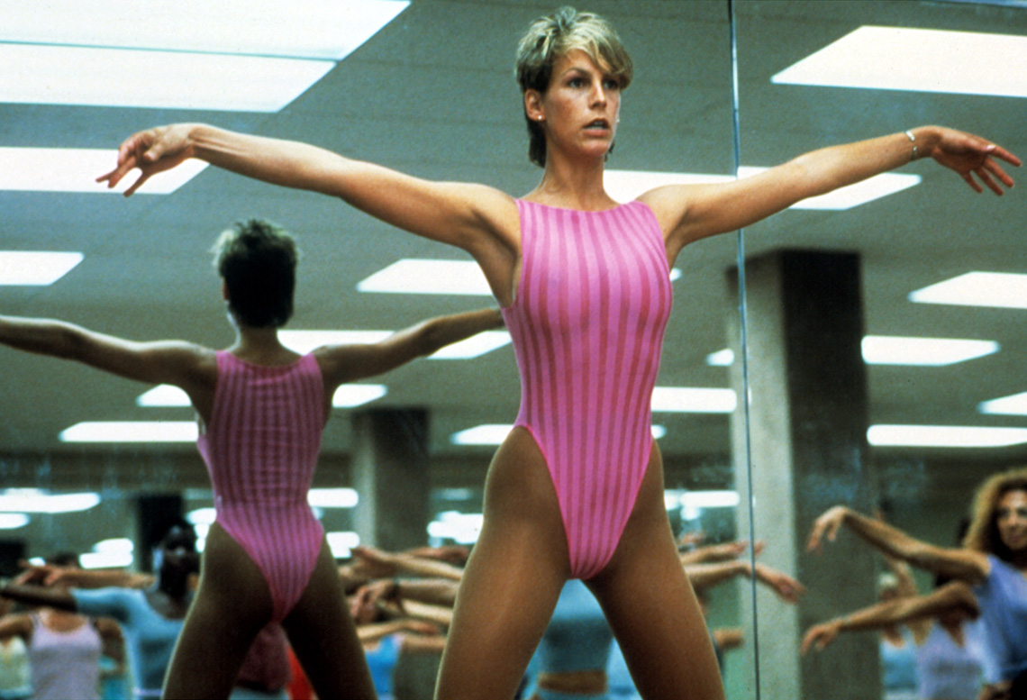 Jamie Lee Curtis stars in the film Perfect