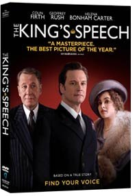 DVDs de la semana: The King's Speech