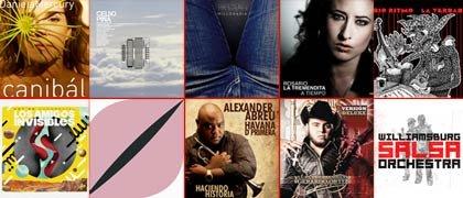 Los 10 mejores CDs de la música latina en el 2011