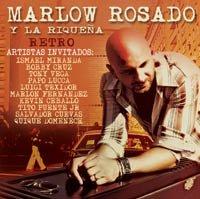 Carátula del cd Retro, de Marlow Rosado, un tributo a los clásicos de la salsa.