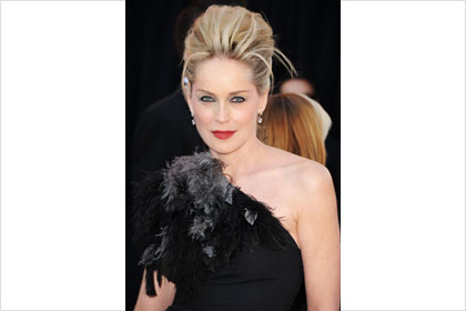 Sharon Stone at the Oscars