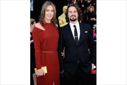 Katheryn Bigelow at the Oscars