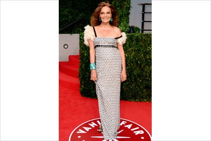 Diane Von Furstenberg at the Oscars