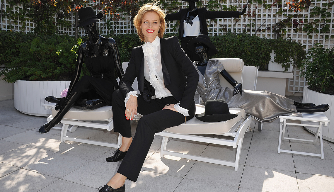 Model Eva Herzigova, Look Great Any Age