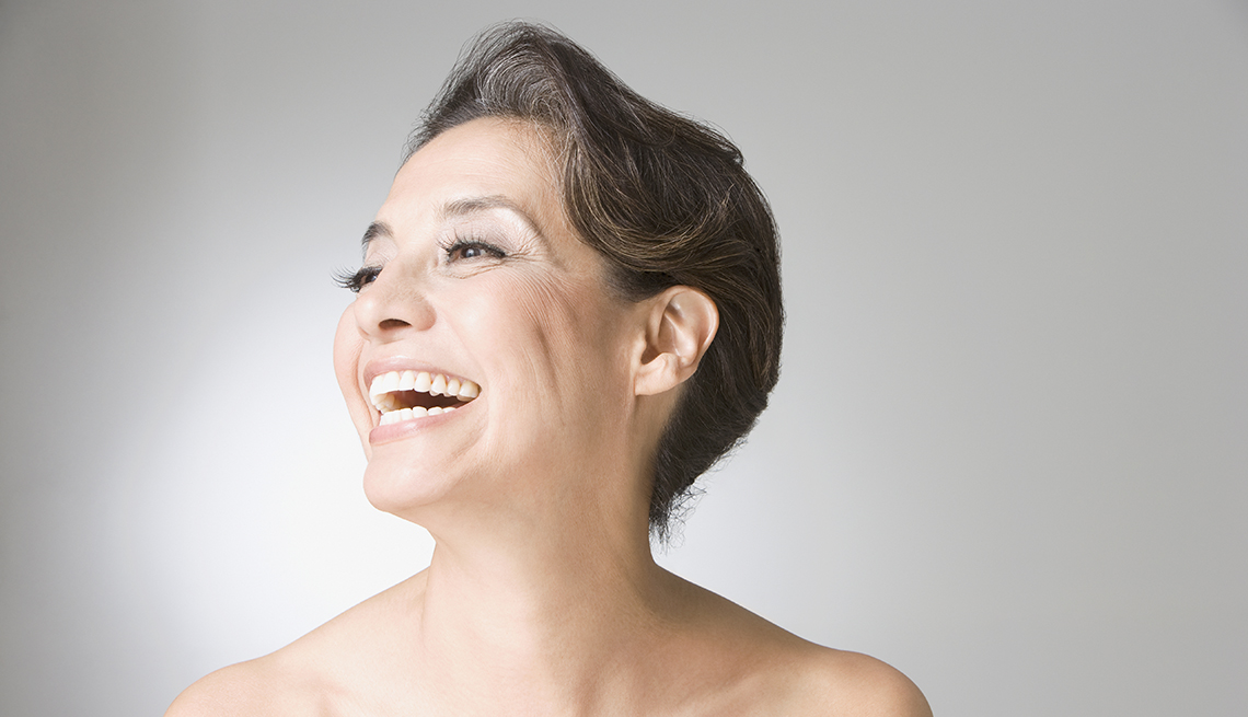 Woman Laughing, Feel Young Look Young