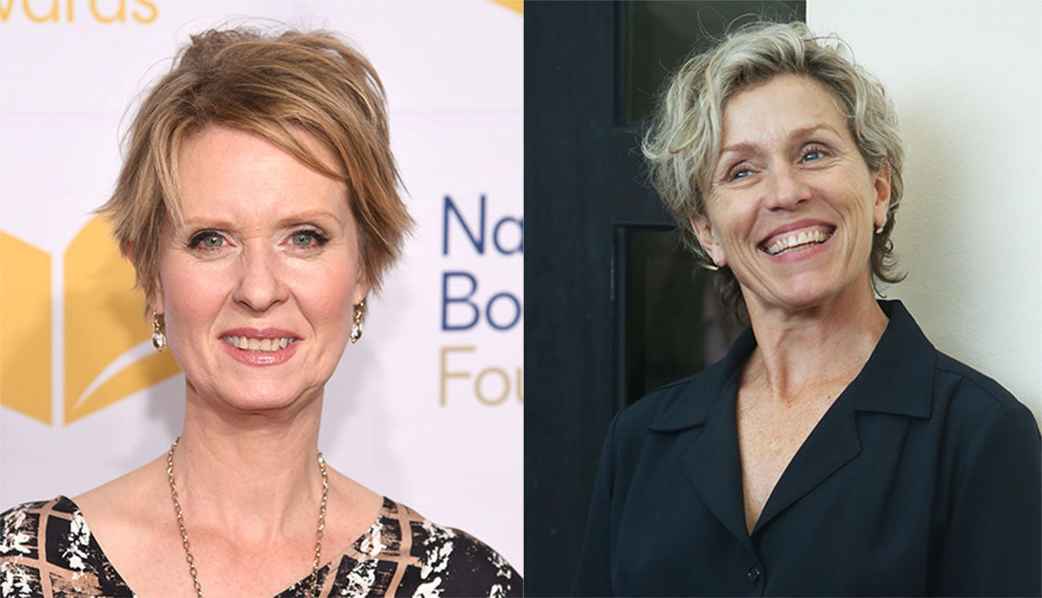 item 6, Gallery image. Cynthia Nixon and Frances McDormand
