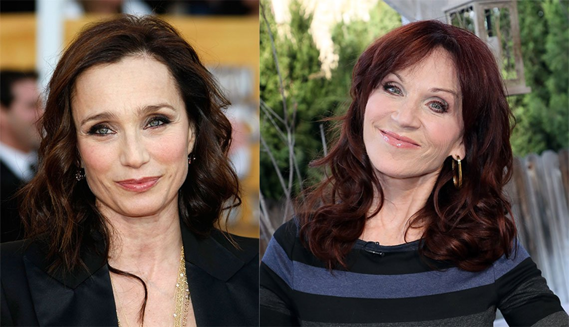item 9, Gallery image. Kristin Scott Thomas and Marilu Henner