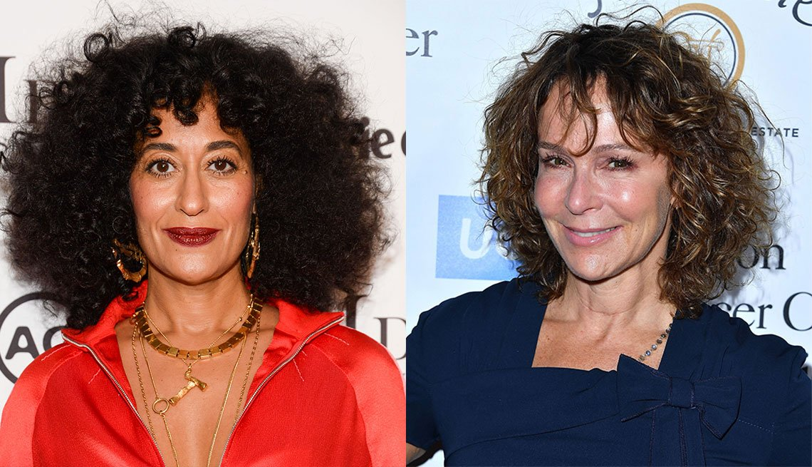 item 2, Gallery image. Tracee Ellis Ross  and Jennifer Grey
