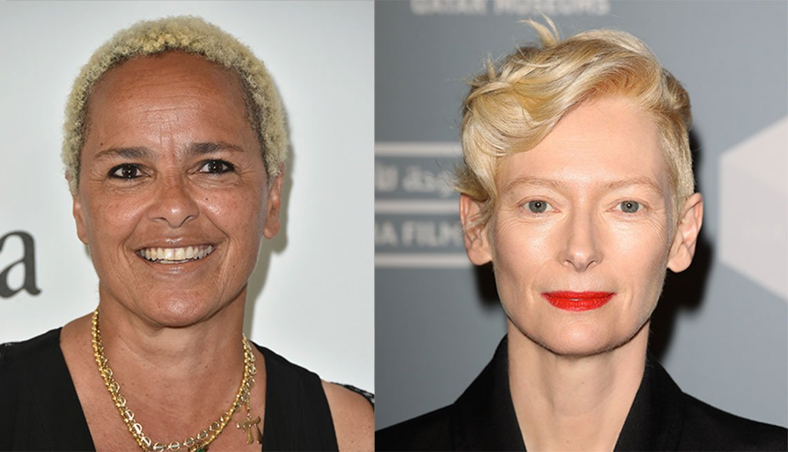 item 10, Gallery image. Shari Belafonte and Tilda Swinton