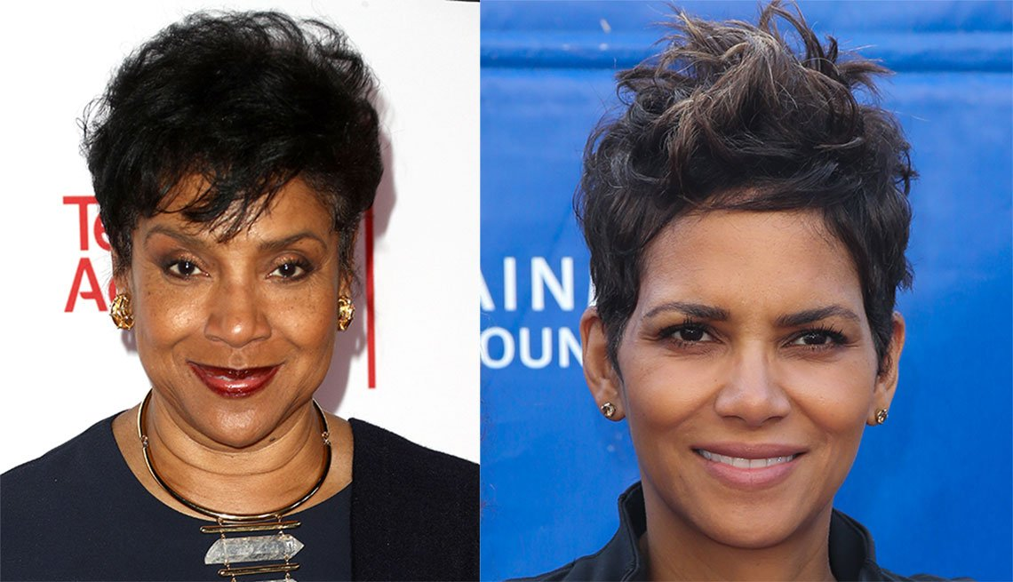 item 7, Gallery image. Phylicia Rashad and Halle Berry