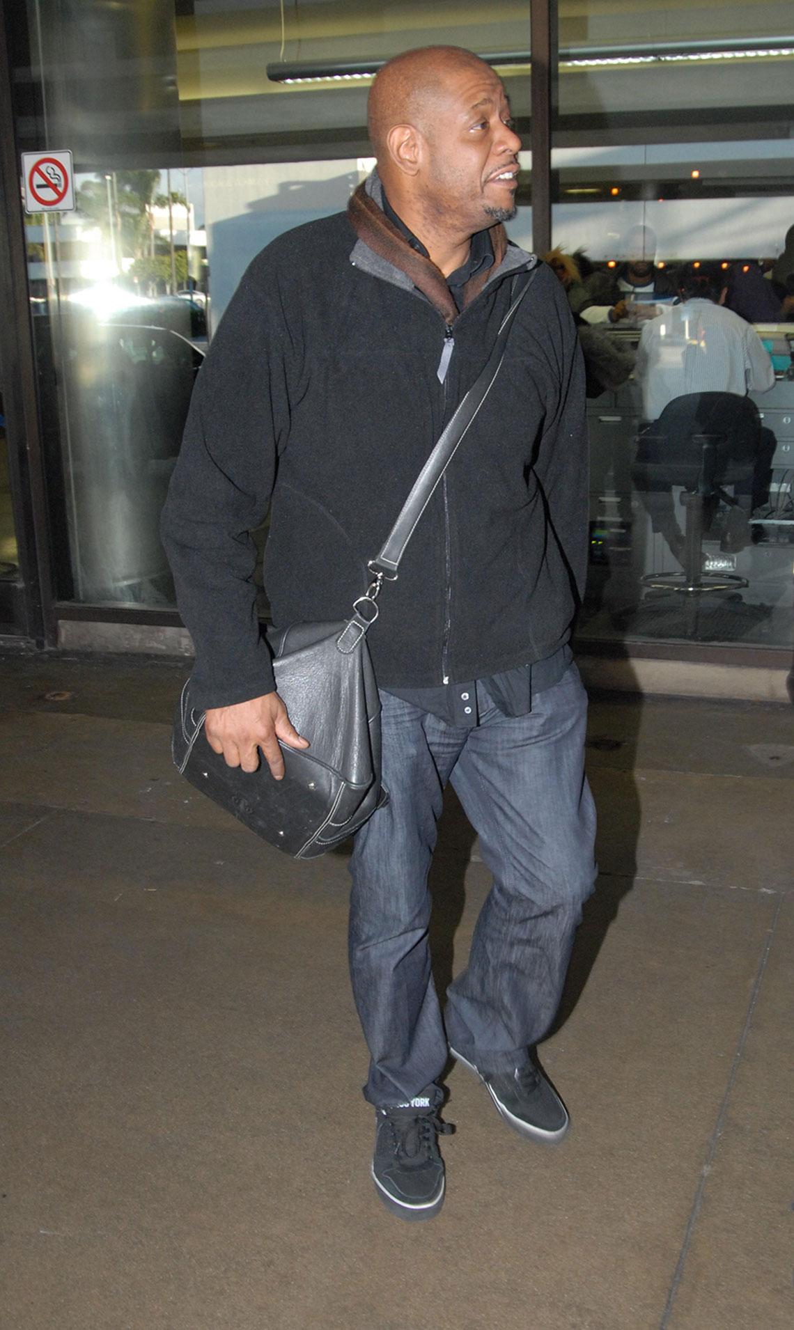 Forest Whitaker en jeans