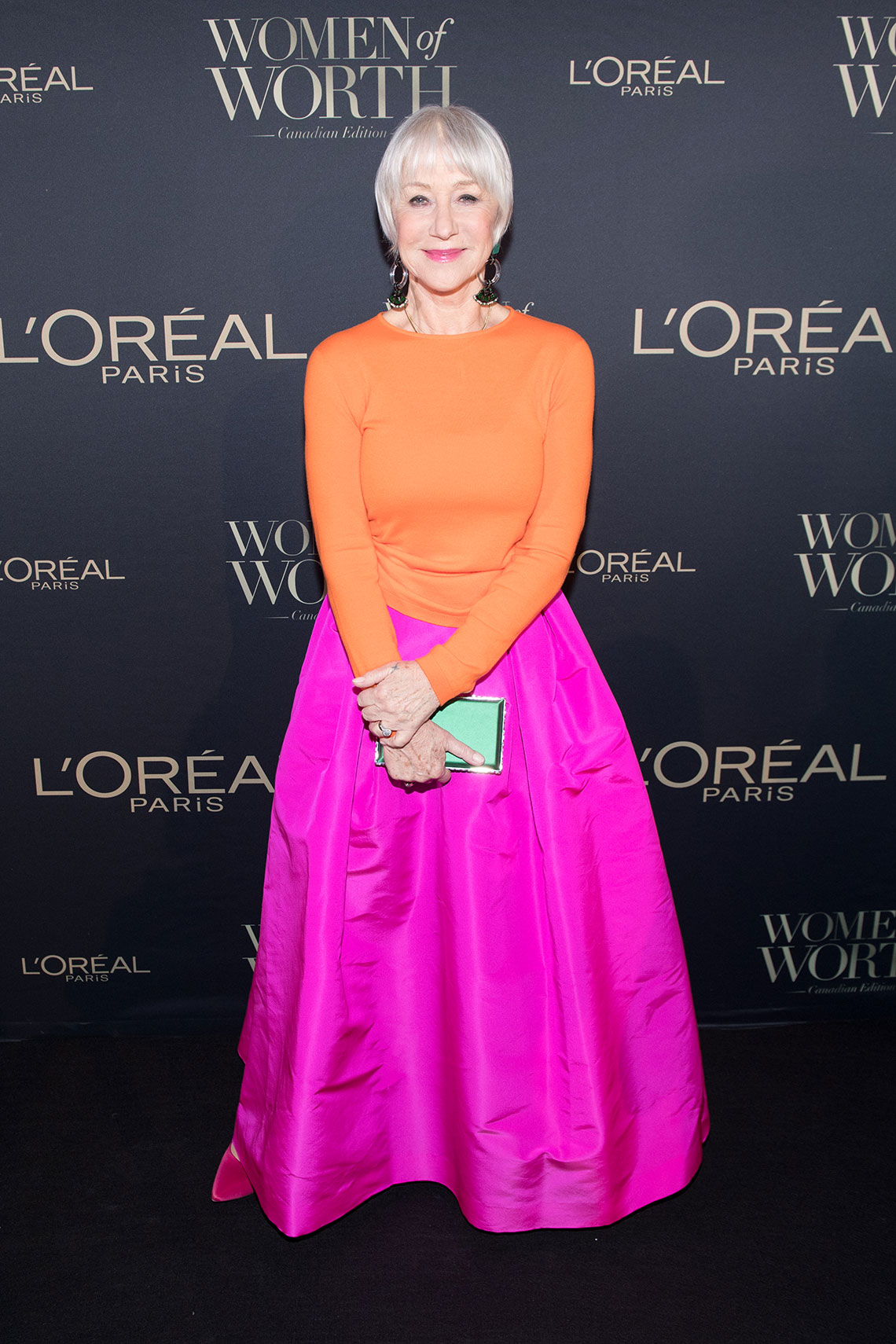 item 3 of Gallery image - Dame Helen Mirren attend the L'Oreal Paris Canadian Women of Worth Awards Gala on International Women's Day 2018 on March 8, 2018 in Toronto, Canada.