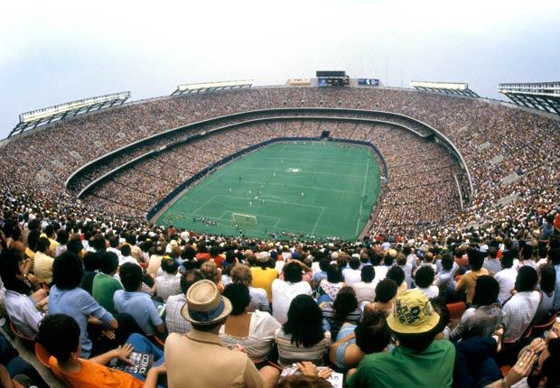 En 1978 el New York Cosmos llenó el estadio de los Gigantes.