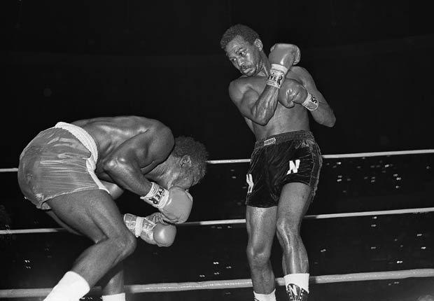 José Nápoles, boxeador cubano apodado 'Mantequilla' por su estilo refinado.