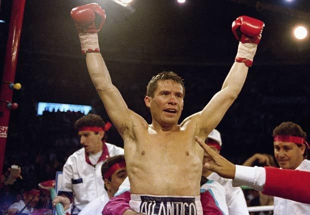 Julio César Chávez, boxeador mexicano.