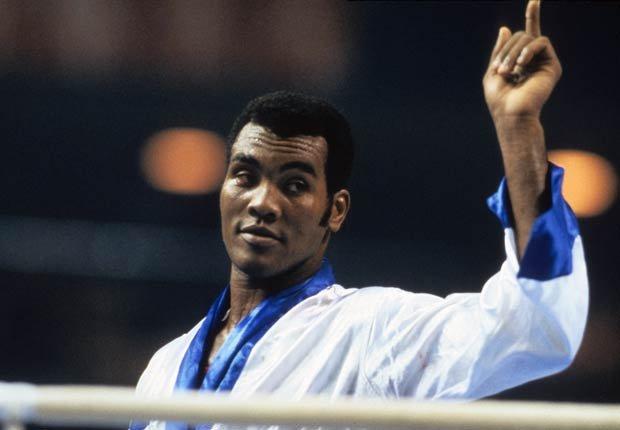 Teófilo Stevenson, boxeador cubano.