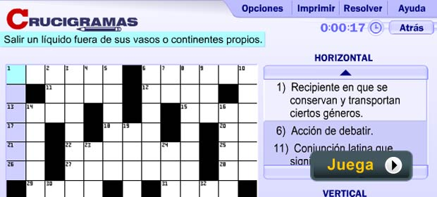 Crucigramas - Juegos AARP