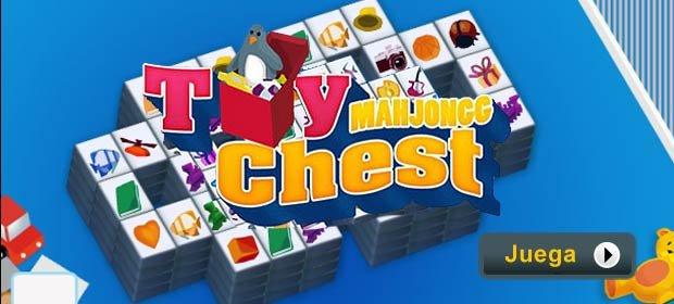 Juego Gratis - Mahjongg Toy Chest - Baúl de juguetes