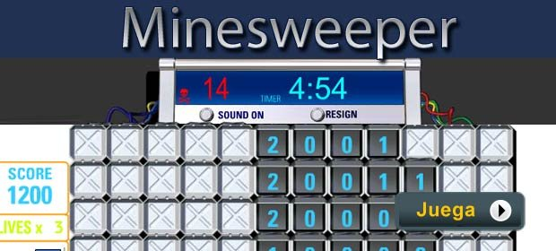 Minesweeper - Juegos AARP