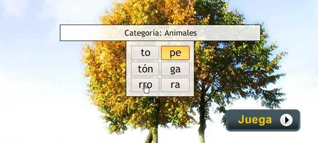 Palabras Divididas - Juegos AARP