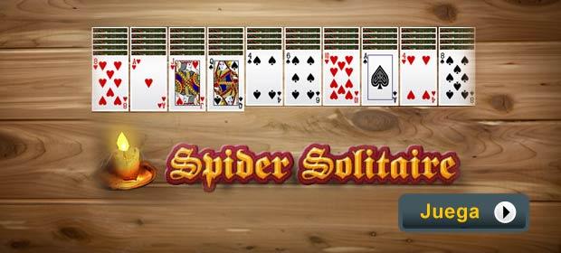 juegos de mesa solitario spider: