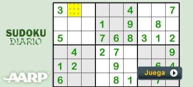Sudoku - Juegos AARP