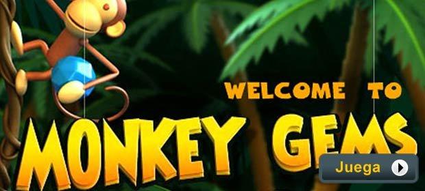 Monkey Gems - Juegos AARP