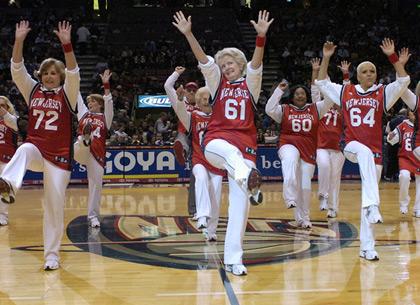 Senior Dance Teams Score With NBA Fans