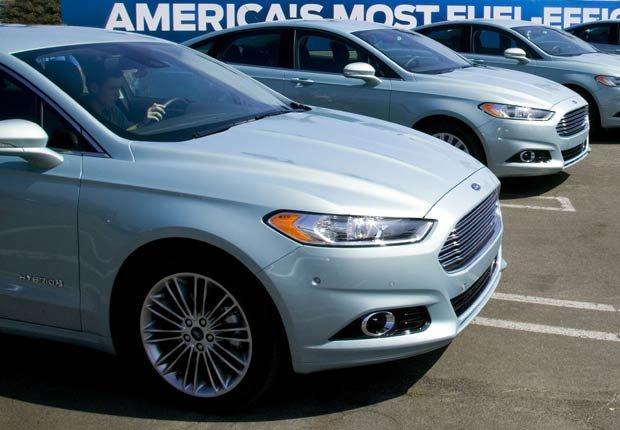 Ford Fusion  - Vehículos para la generación boomer para el 2013
