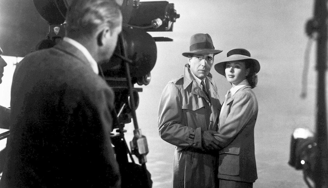 Michael Curtiz, Humphrey Bogart, Ingrid Bergman, películas clásicas