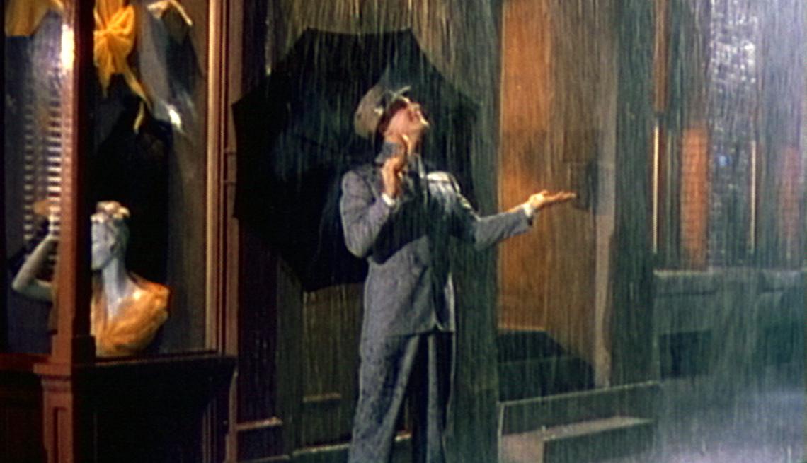 Gene Kelly, Bailando bajo la lluvia,  películas clásicas