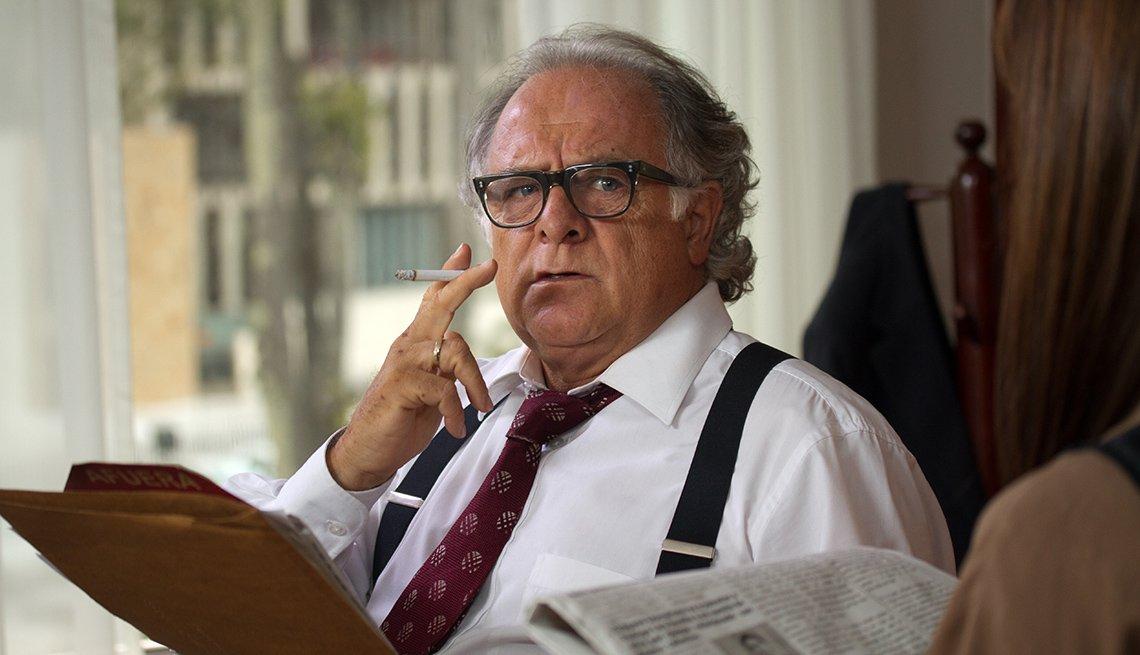 Germán Quintero en la serie Pablo Escobar: El patrón del mal