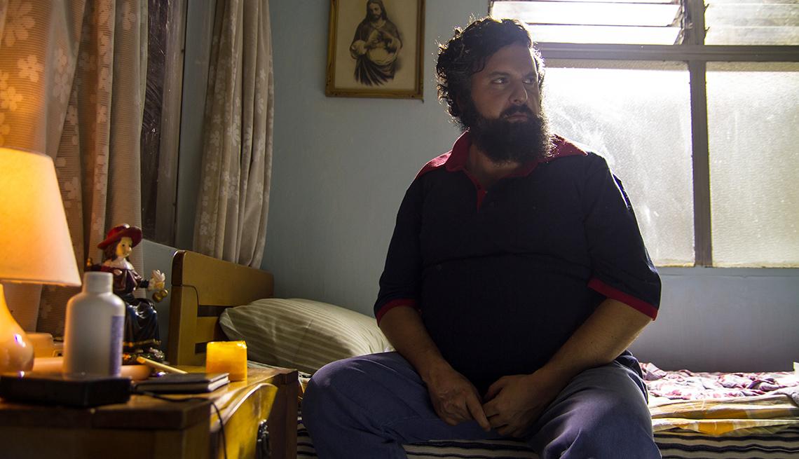 Andrés Parra en la serie Pablo Escobar: El patrón del mal