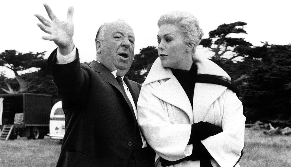 Alfred Hitchcock y Kim Novak, películas clásicas