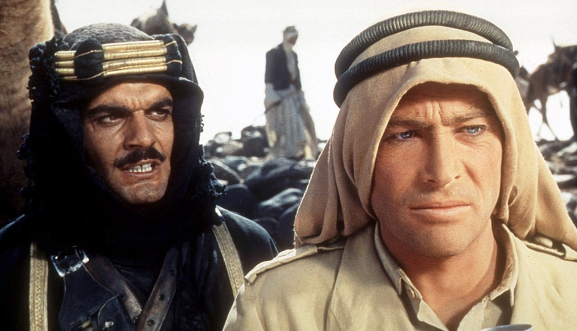 Omar Sharif, Peter O'Toole, películas clásicas