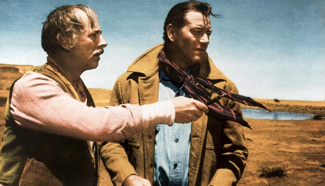 John Qualen, John Wayne,  películas clásicas